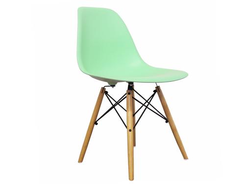 Krzesło MIETOWE/TURKUSOWE DSW Milano Design DSW France 8011 na Arena.pl
