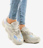 Beżowe buty sportowe MS522-8 40