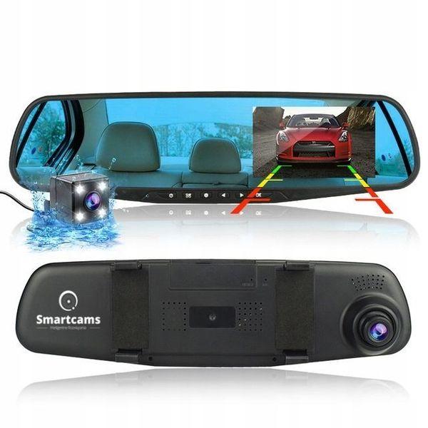 Kamera samochodowa w lusterku Smartcams HSJ-226 na Arena.pl