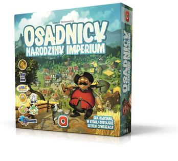 OSADNICY : NARODZINY IMPERIUM GRA PLANSZOWA PORTAL GAMES