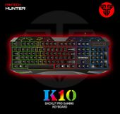 Klawiatura dla graczy gamingowa podświetlana Fantech K10