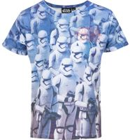 T-Shirt Star Wars r116 6 lat Licencja LucasFilm (QE1034 Blue 6Y)