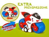 Sportowy Motorek dla maluszka do zabawy ZA0812