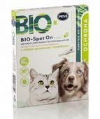 PESS BIO krople 4 sztuki na pchły kleszcze dla kota i małego psa