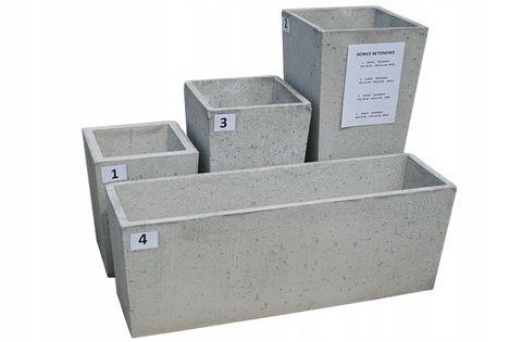 Donica betonowa h40cm L35,5cm