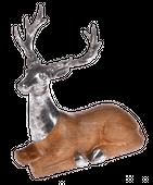 Figurka jeleń leżący 25x13x26cm #