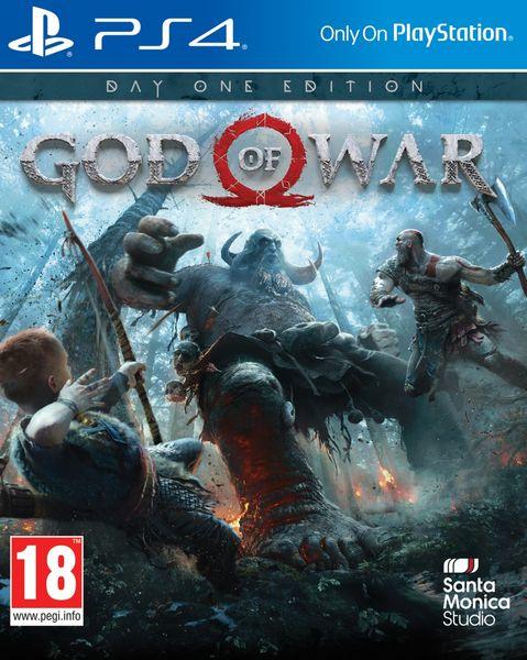 GOD OF WAR DAY ONE EDITION  PS4 zdjęcie 1