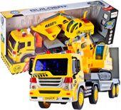 Ciężarówka budowlana dla dzieci laweta z koparką TIR U199