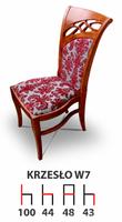 Krzesła Krzesło Włoskie Tanio W7  Producent  Drewniane Bukowe