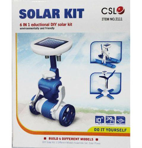 Roboty solarne 6w1 - wiatrak, helikopter, auto, robot na Arena.pl