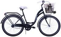 (K14) Rower miejski damski Kozbike czarny