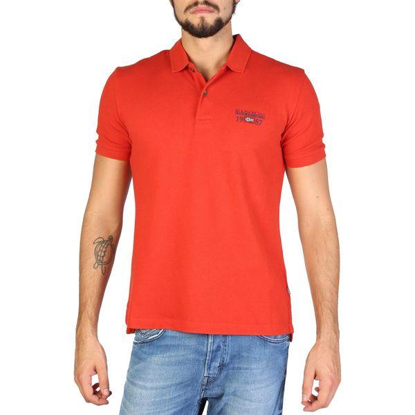 Napapijri koszulka męska polo pomarańczowy L zdjęcie 1