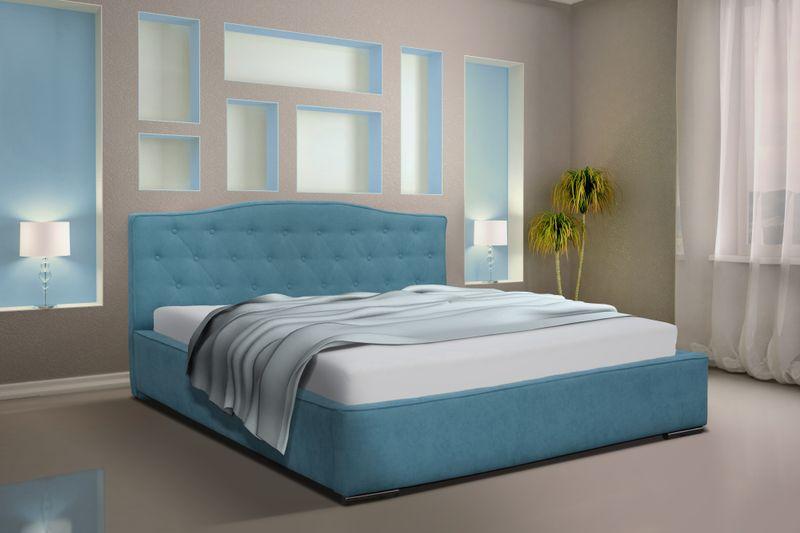 łóżko Malta 140x200 Do Sypialni Pojemnik Automat