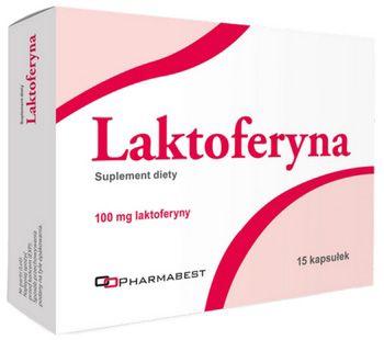 Laktoferyna 100mg 15 kapsułek Pharmabest