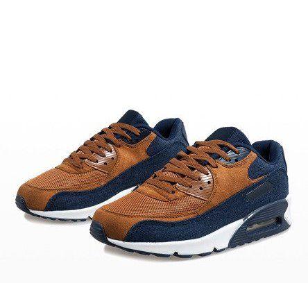 Granatowe męskie obuwie sportowe 8104 r.45 zdjęcie 4
