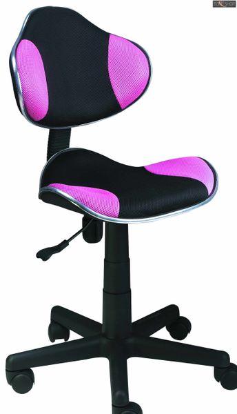 Fotel obrotowy qzy-g2b różowy zdjęcie 1