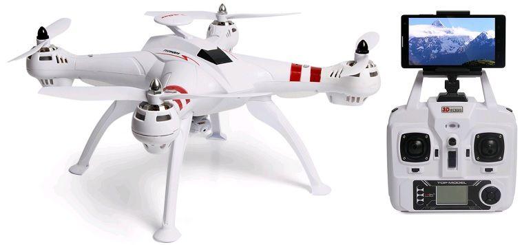 DRON TYPHON X15 z Kamerą WiFi na telefon 4000mAh (2xAku) Z184Z zdjęcie 4