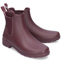 Hunter Original Refined Chelsea - Kalosze Damskie - WFS1017RMA OXBLOOD 36