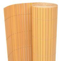 Ogrodzenie ogrodowe PVC 170x500cm żółte VidaXL