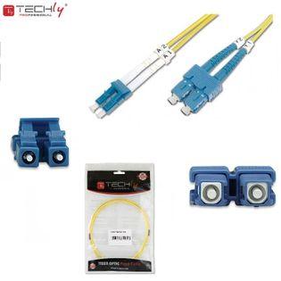 Światłowód krosowy TechlyPro LC-SC duplex 9/125 OS2, SM 3m ILWL D9-SCLC-030