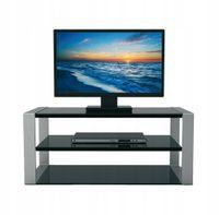 4World Style Stolik TV półka pod TV, czarny
