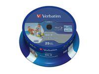 BD-R VERBATIM 25GB X6 HTL PRINTABLE NO ID (CAKE 25)