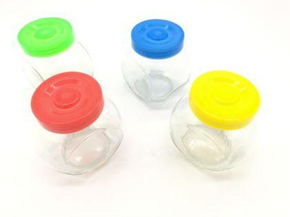 Słoiki pojemniki szklane na przyprawy, cukier kawa