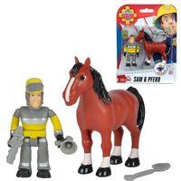SIMBA Strażak Sam Sam i Koń akcesoria figurki