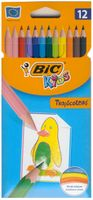 Kredki ołówkowe dla dzieci BIC Tropicolors 12 kol*