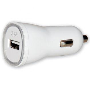 SAMOCHODOWA ŁADOWARKA TECHLY USB 5V 2.4A - zasilanie USB