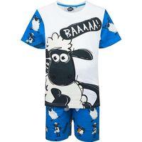 Piżama z krótkim rękawem Shaun the Sheep (5204025 White 4Y)
