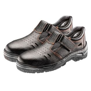 Sandały robocze S1 SRC, skórzane, rozmiar 47