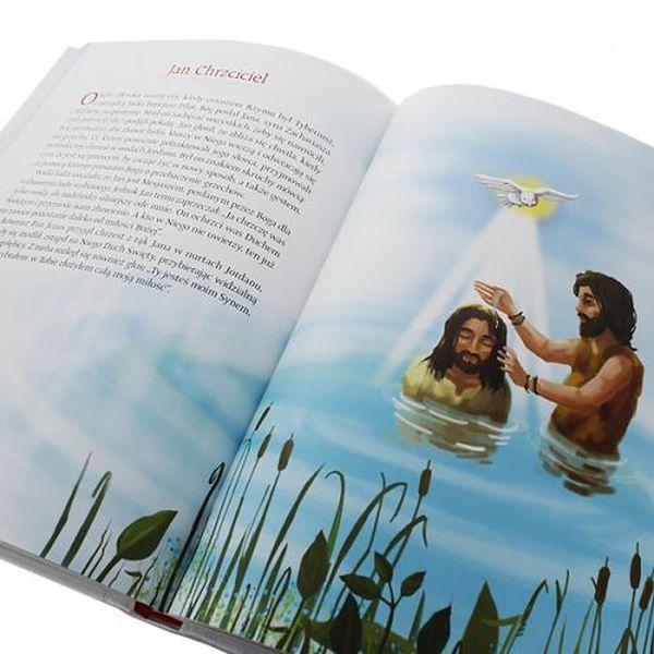 Biblia Święta Historia dla dzieci Chrzest GRAWER zdjęcie 3
