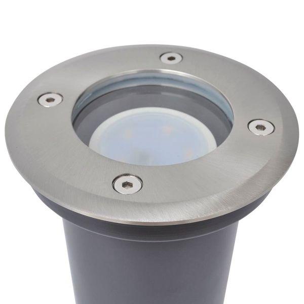 Lampy najazdowe LED, 3 szt., okrągłe zdjęcie 5