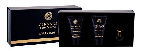 Versace Pour Femme Dylan Blue Woda perfumowana 5ml zestaw upominkowy