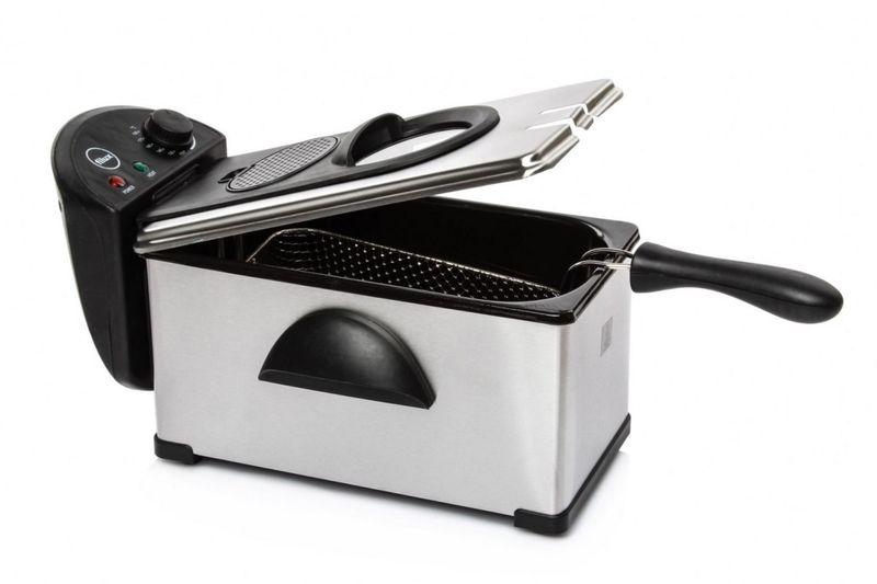 Super Frytkownica 3L frytownica smażalnia filtr regulacja temperatury DP85