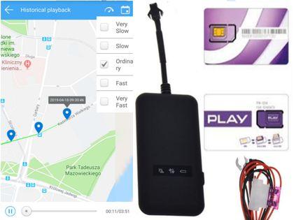 LOKALIZATOR GPS SERWER WWW POLSKA KARTA SIM ROK 0ZŁ TELEMETRYCZNA KART