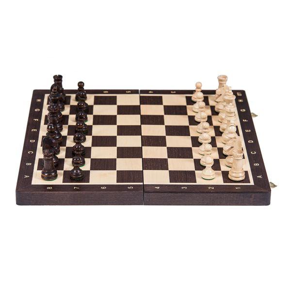 Szachy Turniejowe Nr 4 - Wenge zdjęcie 1