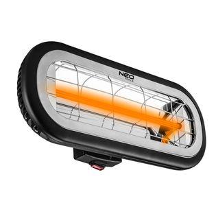 Promiennik 2000W, IP65, element grzejny low glare amber lamp