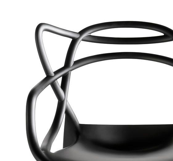 Krzesło Dankor Design Masters czarny wzmacniany zdjęcie 3