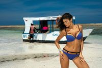 Kostium Kąpielowy Nathalie Royal Blue M-391 (16) Rozmiar S
