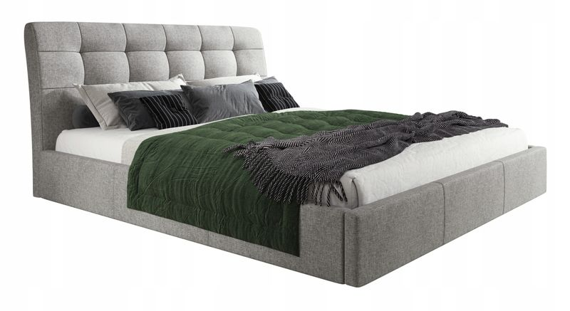 łóżko Tapicerowane Aldo 140x200 Z Pojemnikiem