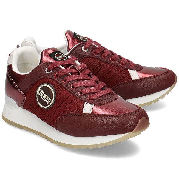 Colmar - Sneakersy Damskie - TRAVIS ACT 126 BURGUNDY 37 zdjęcie 1