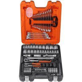 Klucz klucze nasadowe zestaw 1/4-1/2 zestaw walizka swe
