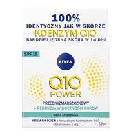 Nivea Q10 Power Przeciwzmarszczkowy + Redukcja Widoczności Porów Krem Na Dzień Do Cery Mieszanej 50Ml