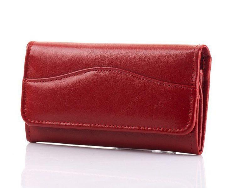 394a307822a53 Skórzany portfel damski w kolorze czerwonym • Arena.pl