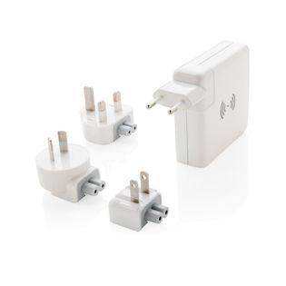 Adapter podróżny, bezprzewodowy power bank 6700 mAh