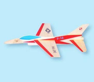 Model Sylwetkowy Do Startu Z Wyrzutni Gumowej F-16