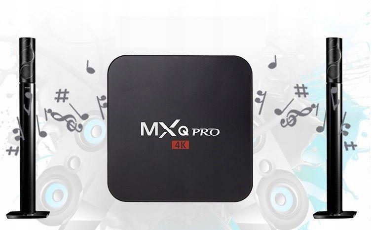 TV BOX MXQ PRO S905x Android 7 SMART 4K 1GB RAM zdjęcie 8