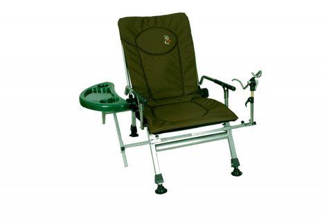 Fotel wędkarski CARP F5R ze stolikiem i uchwytem na wędkę